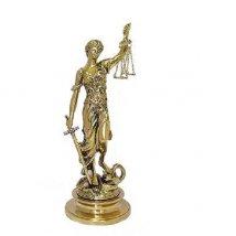 Статуэтка Богиня Правосудия, бронза