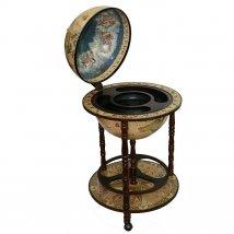 """Глобус-бар """"Сокровища древнего мира"""" напольный, d=42см"""