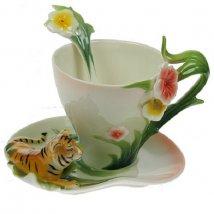Подарочный чайный набор Тигровый цвет