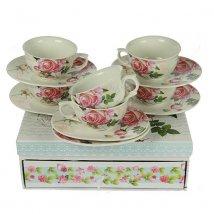 "Набор чайный ""Чайная роза"" на 6 персон"