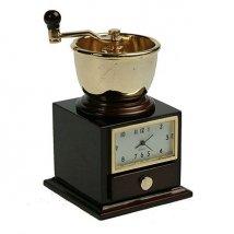 Часы настольные Кофемолка
