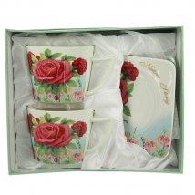 Чайный набор Чайная роза на 2 персоны