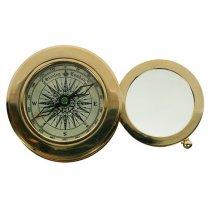 Сувенир настольный: лупа и компас