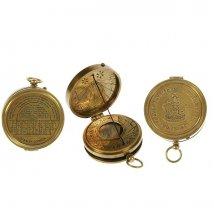 Сувенир: солнечные часы и компас