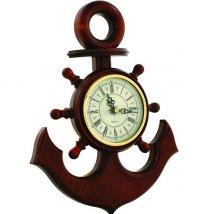 Якорь сувенирный, часы