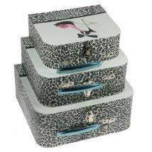 Комплект коробок-сундучков из 3-х шт.