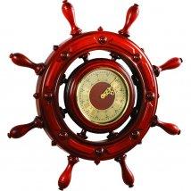 Штурвал сувенирный, часы