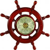Штурвал сувенирный, барометр