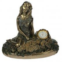 Часы настольные Римская богиня счастья и удачи - Фортуна