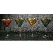 Набор бокалов для мартини на 4 персоны
