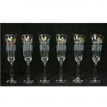 Набор бокалов для шампанского на 6 персон
