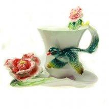 Чайный набор Роза на 1 персону
