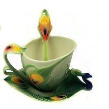 Чайный набор Павлин на 1 персону
