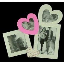 Фоторамка Сердце на 4 фото