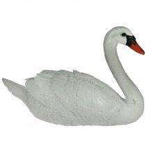 Фигурка ландшафтная Лебедь