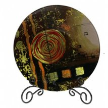 Тарелка декоративная Вихрь