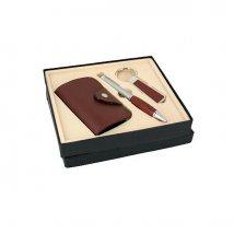 Подарочный набор VIRON: ключница, ручка, брелок