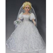 Кукла коллекционная, 46см Невеста