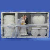 Набор свечей Свадебный из 4шт