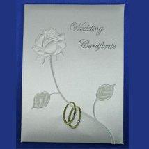 Папка для свидетельства о регистрации брака
