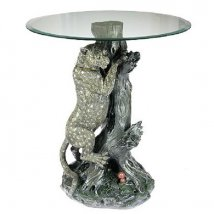 Декоративный столик Леопард